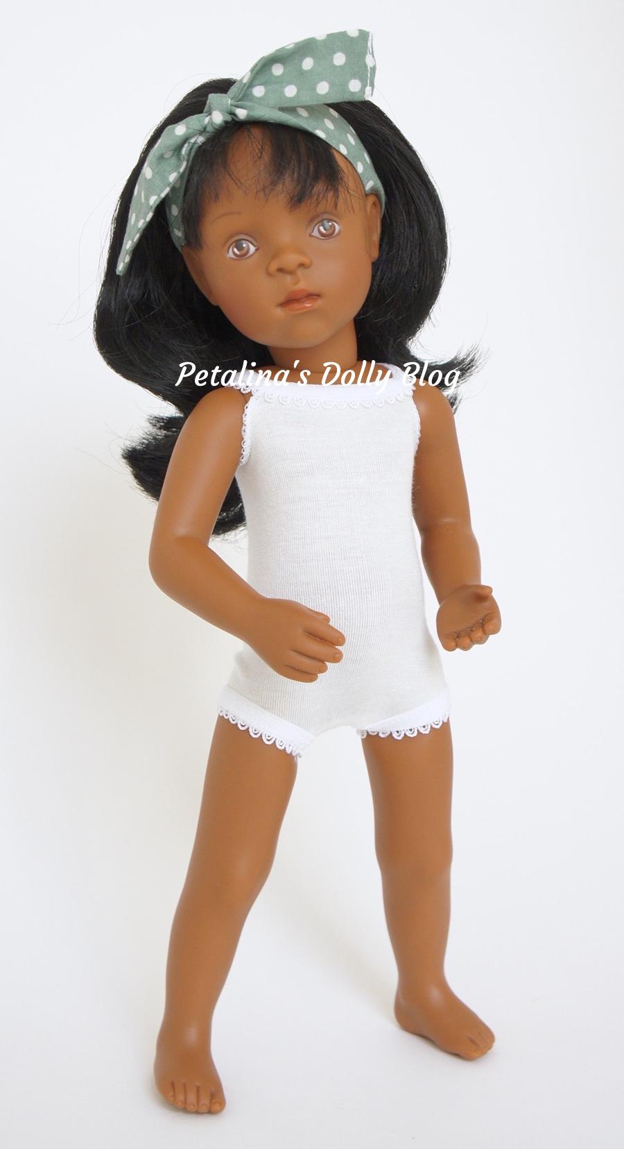 Sylvia Natterer Black Minouche doll