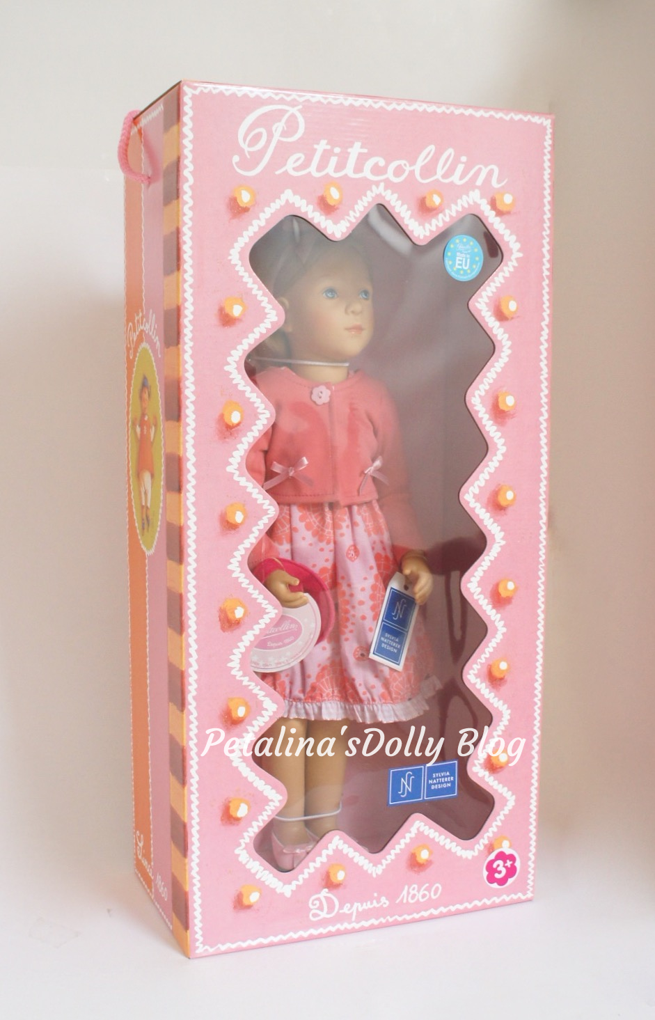 Finouche doll in box