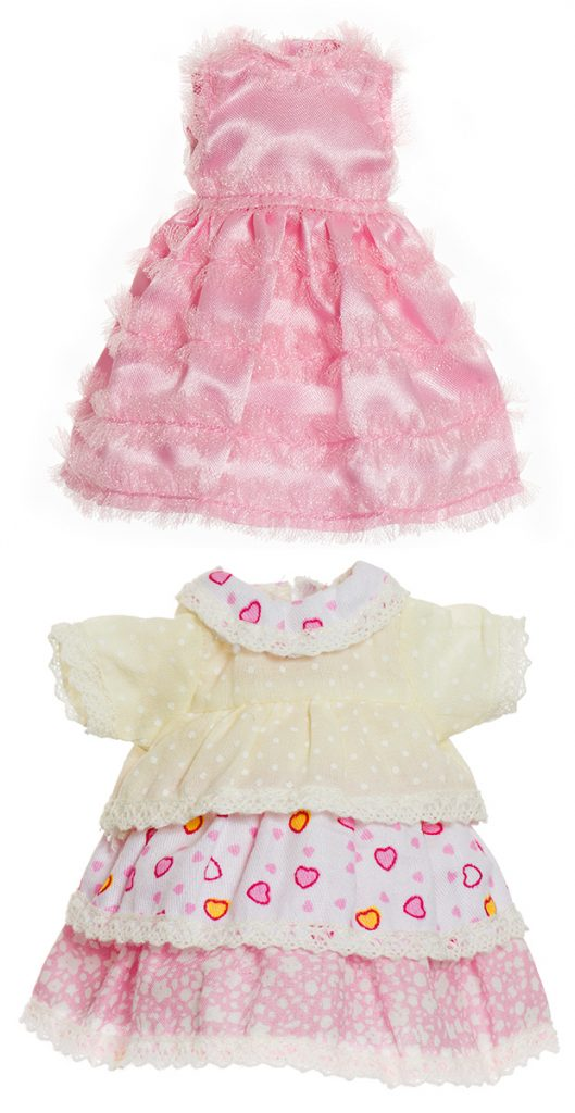Mini doll clothes
