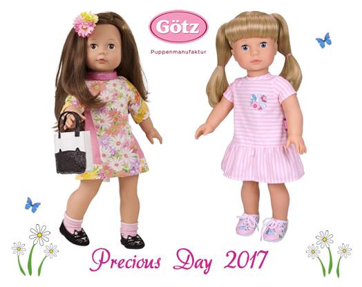 Precious day dolls 2017