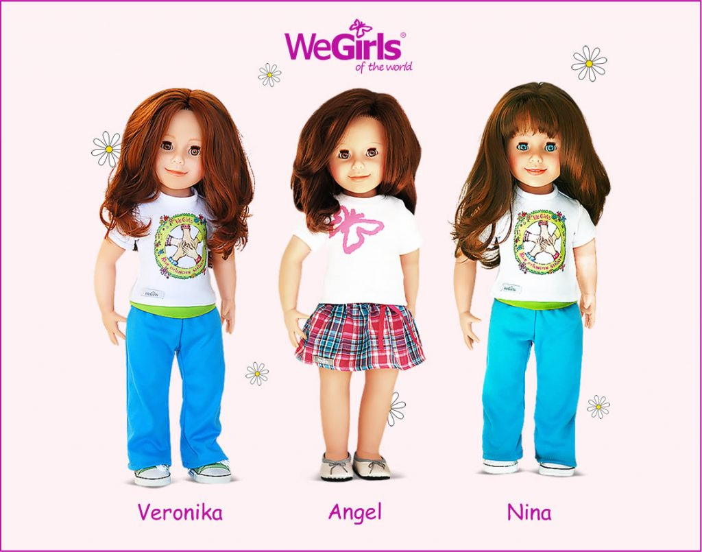 WeGirls dolls Veronika Angel Nina