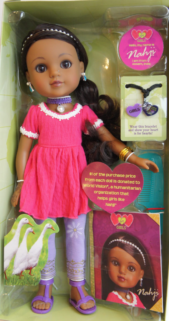 Hearts for Hearts Nahji in box