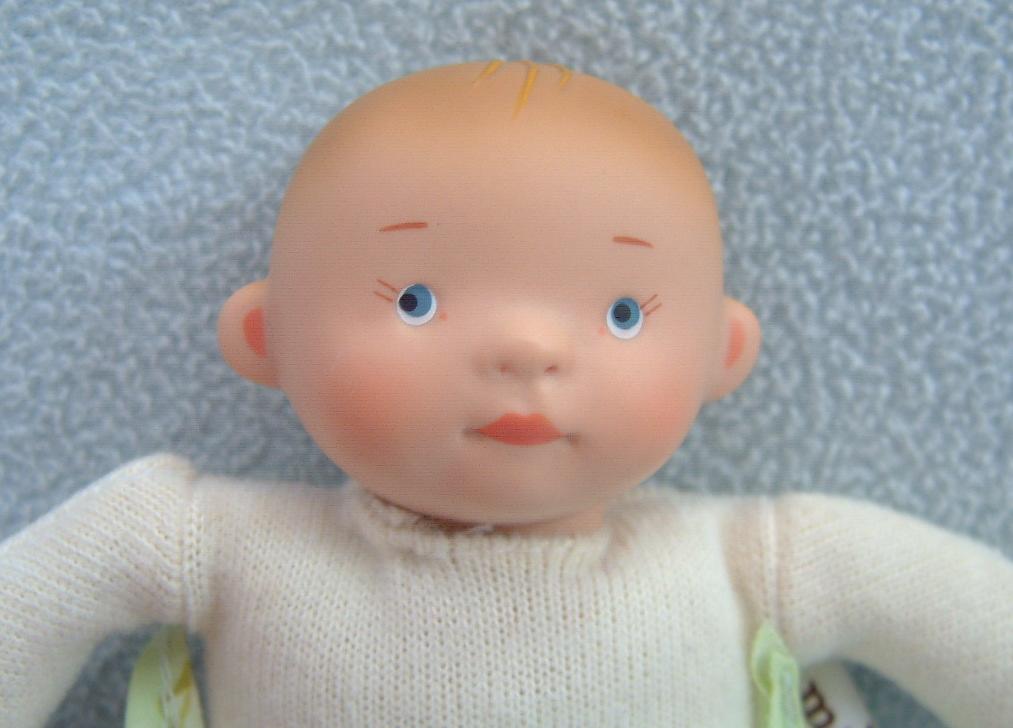 tiny white balloon baby